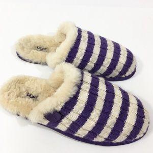 UGG Scuffette sweater Knit slippers.